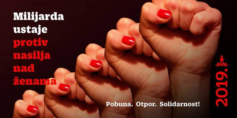 One Billion Rising Revolution u Hrvatskoj: Protiv institucionalnog nasilja nad ženama