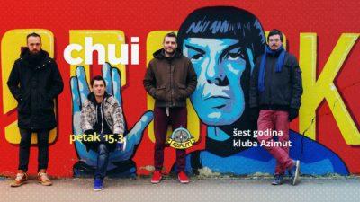 Plakat s lanjskog nastupa u Azimutu