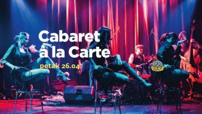 Kabaret po narudžbi: Osebujni Cabaret à la carte večeras u šibenskom Azimutu