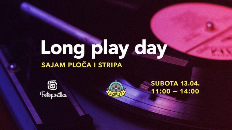 Long play day: Sajam ploča i stripova ispred Azimuta