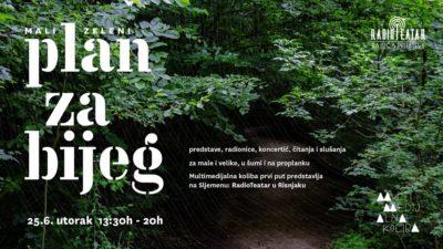Multimedijalna koliba i RadioTeatar na Sljemenu: U šumu! U šumu!
