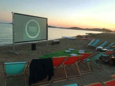 Plaža kao kino...