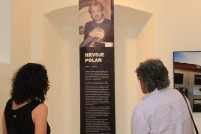 Hrvoje Polan... izložba (foto Fališ)
