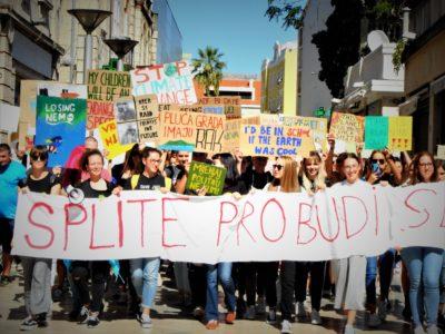 Prosvjed u Splitu (foto TRIS/G. Šimac)