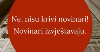 """Sindikat novinara Hrvatske o izjavi glasnogovornika Županijskog suda u Zadru: Strah nas je što bi bilo da nema """"bombastičnih"""" naslova novinara"""