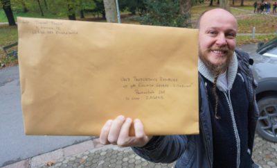 Daniel Pavlić: 'Poslao sam svoj dokumentarac 'Poštovana predsjednice' na Pantovčak 241, ne vjerujem da će ga pogledati'
