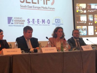 Ministric kulture na SEEMO forumu