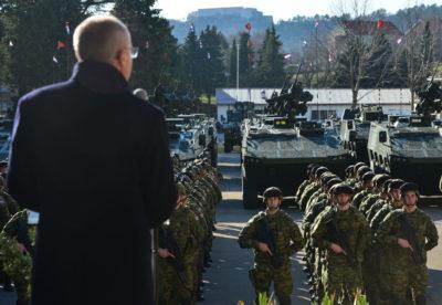 Pripadnici 2. hrvatskog kontingenta ispraćeni u Litvu | Foto: MORH / J. Kopi