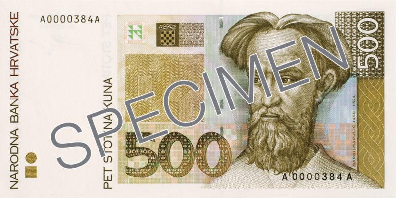 500 kuna (foto HNB)