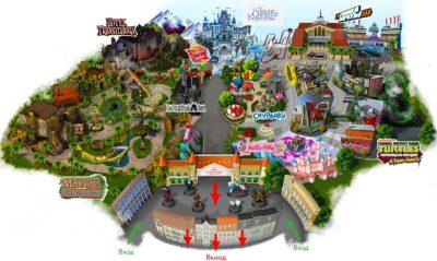 Putin, Kung-fu Panda, Šrek, Ninje kornjače i drugi u Otoku mašte – ruskom Disneylandu na koji je potrošeno1,5 milijardi dolara