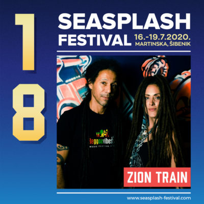 Ljeto, optimizam, Seasplash: U Šibenik stižu Zion Train, britanski dub pioniri