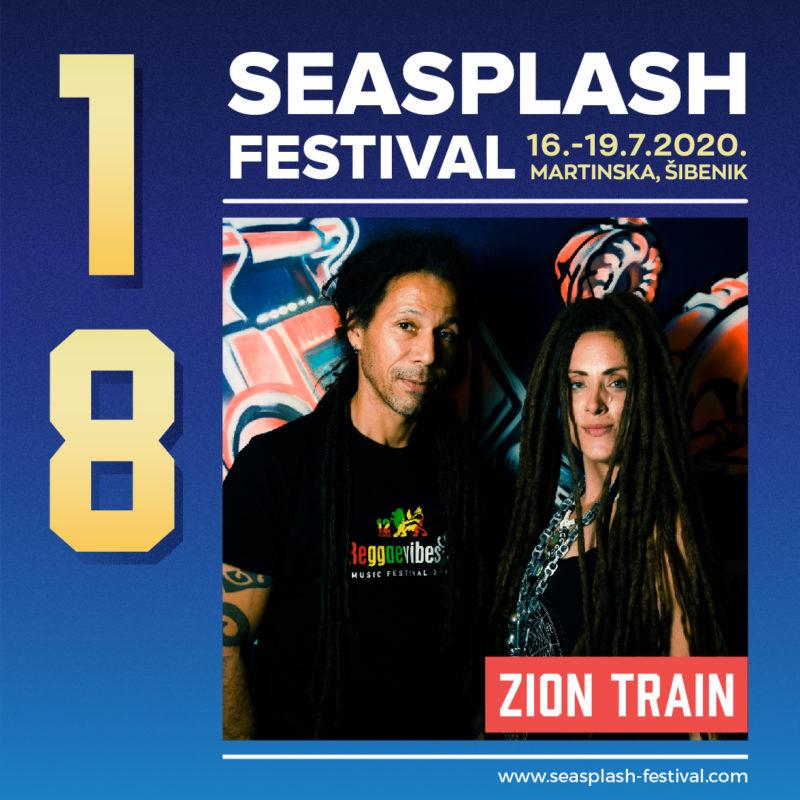 Ljeto, optimizam, Seasplash: U Šibenik stižu Zion Train, britanski dub pioniri