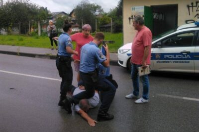 Britalno uhićenje: foto Facebook