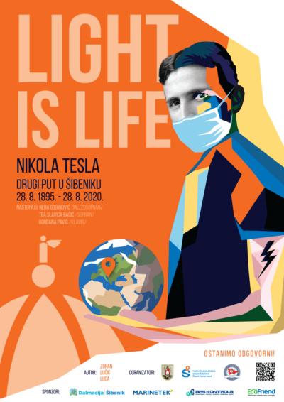 """'Svjetlost je život': Munje, vatromet i lampioni -""""Nikola Tesla drugi put u Šibeniku"""""""