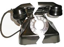 Ilustracija, pokvareni telefoni....