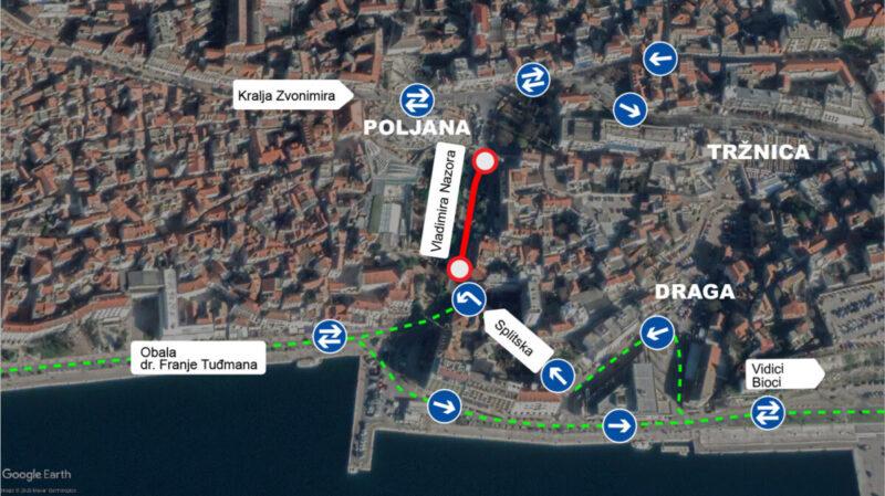 Šibenski vodovod i odvodnja pameti: Raskopavanje se nastavlja, a rokovi probijeni jer 'je utvrđeno je da je teren stjenovit' (i to u Dalmaciji)