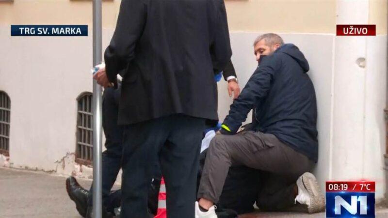 Netko je na Markovom trgu pucao u policajca