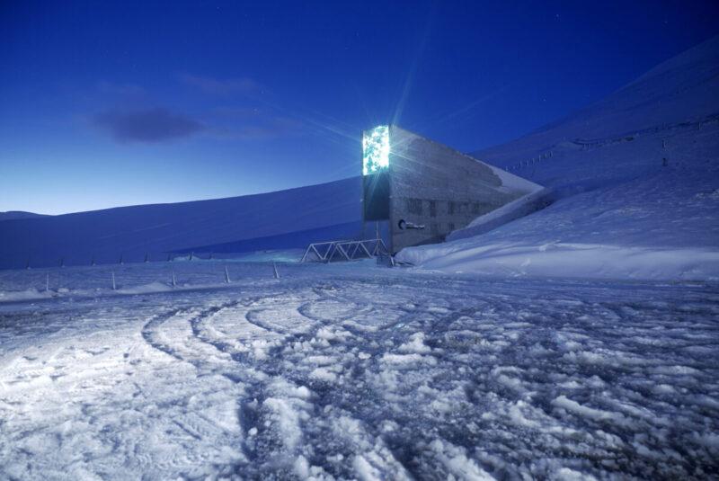 Banka sjemena u Svalbordu (foto Svalbard Global Seed Vault)