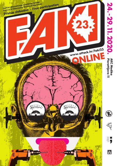 Počeo 23. FAKI – Festival alternativnog kazališnog izričaja: Uglavnom online, dakako