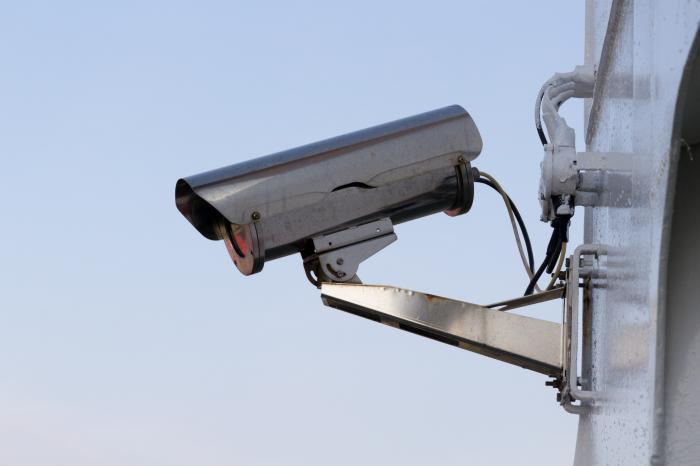 Jedna od kamera u Šibeniku (foto Udruga Roda
