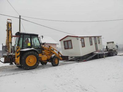 Stigla kućica (foto Zaklada Solidarna)