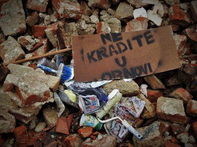 Jasna poruka (foto TRIS/G. Šimac)