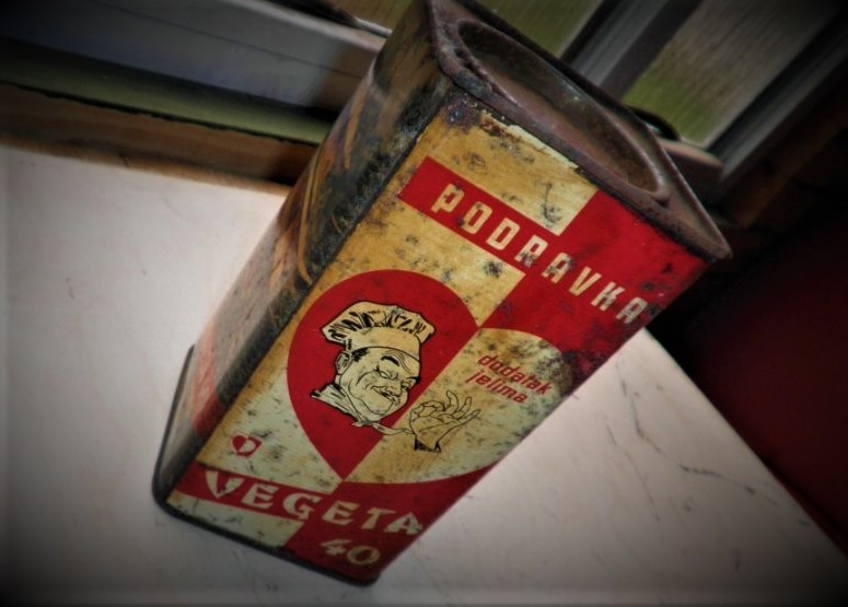 Ilustracija: Stara ambalaža svjetski poznate Podravkine 'Vegete'