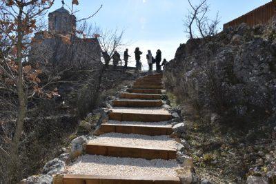 Stepenište do vidikovca (foto ŠKŽ)