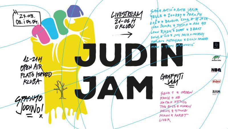 Judin Jam ispred Judinog drva: 'Za kulturu, za mladost, za pokret, za rast i za Judin spas'