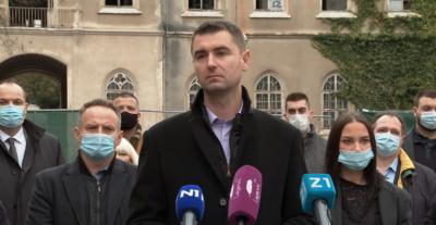 Davor Filipović (HDZ) i društvo (foto N1)