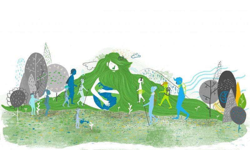 Ilustracija PEU Stribor: ilustratorica Ana Salopek