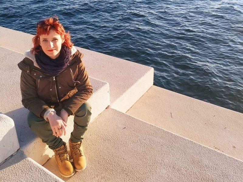 Marina Bura na zadarskim morskim orguljama