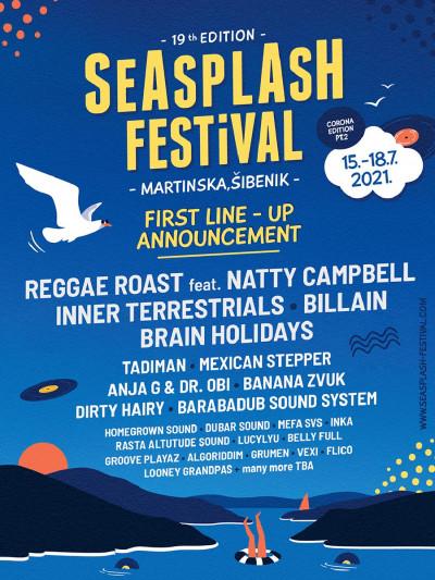 Festival optimizma: Seasplash kod Šibenika ide dalje – od 15. do 18. srpnja