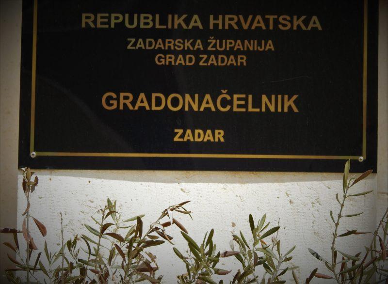 Zadar, gradonačelnik  (foto TRIS/G. Šimac)