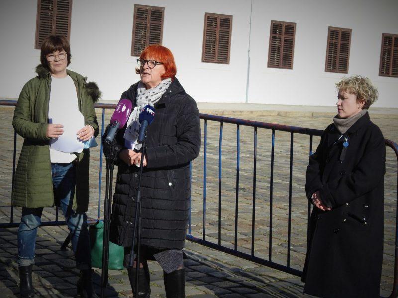 Nataša Škaričić, Rada Borić i Ivana Kekin o zdravlju (foto TRIS/G. Šimac)