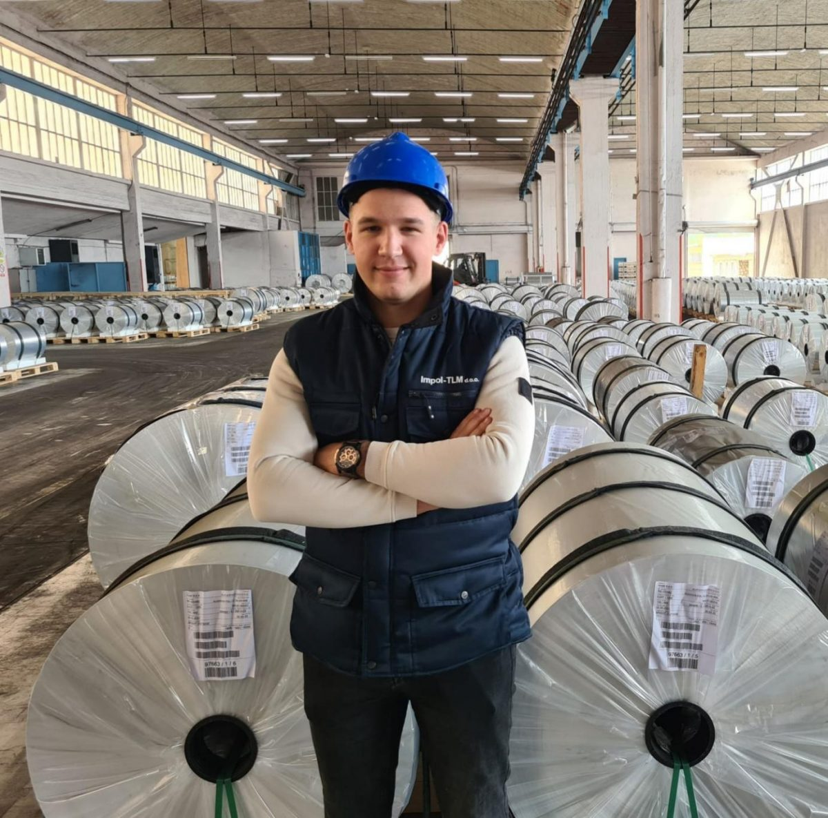 Impol-TLM/ Marin Vukosav, procesni inženjer koji je iz Ploča došao raditi u Šibenik: Nakon samo par mjeseci u Impol-TLM-u, dobio sam ugovor za bolje radno mjesto!