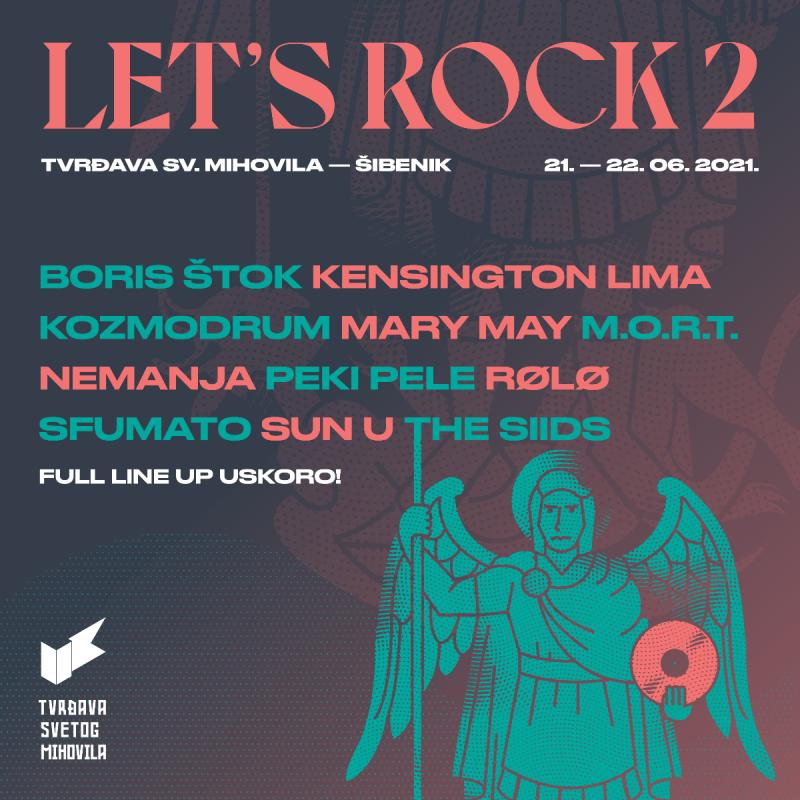 Let's Rock: Dvaesetak bandova svira dva dana na tri pozornice na šibenskoj tvrđavi