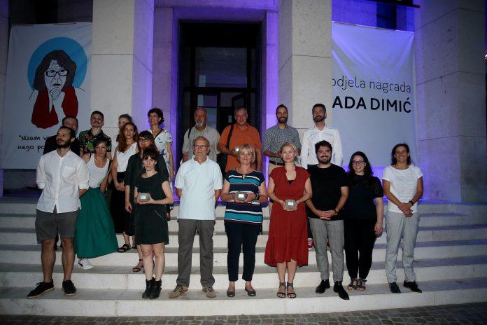 """U Zagrebu dodijeljene nagrade """"Nada Dimić""""i """"Vesna Kesić"""": Nagrađeni Ljudi za ljude, Sloga, Dobro dobrim, Mladen Kozić i Ivo Šegota,te Danka Derifaj"""