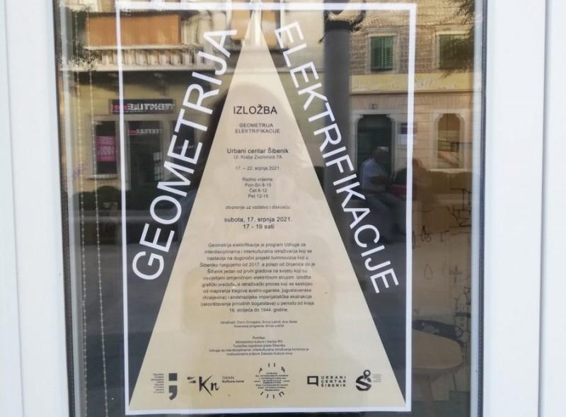 'Geometrija elektrifikacije': Izložba o Šibeniku koji je među prvima osvijetljen izmjeničnom električnom strujom