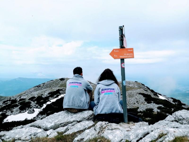 Felicie i Douglas na Dinari, krovu Hrvatske