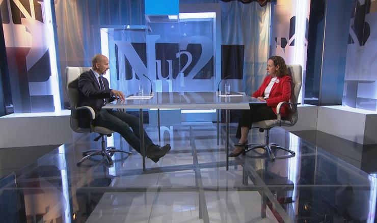 Ministrica Nina Obuljen Koržinek u Nu2: Ministrica, unatoč svemu, HTV-u dala vrlo dobru ocjenu!?