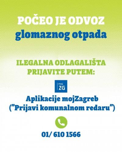 Zagreb: Odlazi glomazni otpad