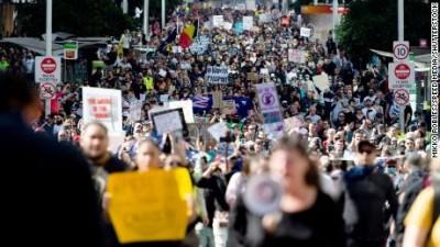 Prosvjed u Austraaliji (foto DW)
