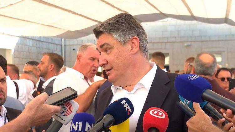 Zoran Milanović na 306. Sinjskoj alci: Želim da Alka nikad više ne bude politička govornica!