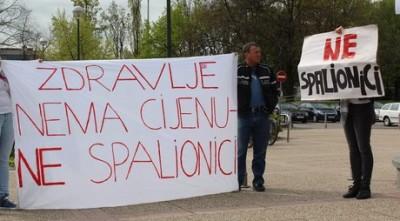 'Kutina ne smije postati centar za spaljivanje smeća iz čitave Hrvatske!'