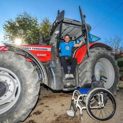 Ivan Palčić, poljoprivrednik: Invaliditet me nije nimalo promijenio, samo me naučio da više cijenim svaki trenutak u životu