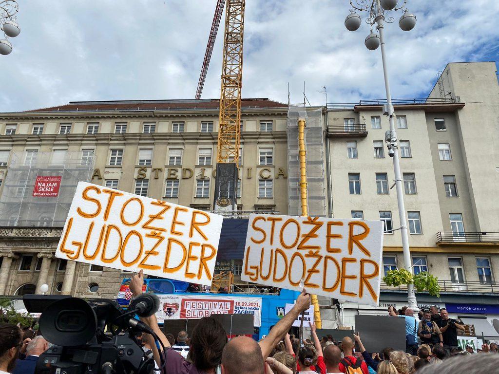 Antivakserski Festival slobode u Zagrebu: Biološki rat, borba protiv neoliberalnog fašizma i komunizma, pandemija straha i neslobode…