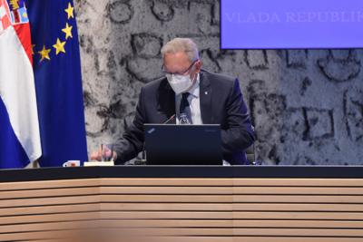 Arhiva: Božinović (HDZ) s maskom (foto Vlada RH)