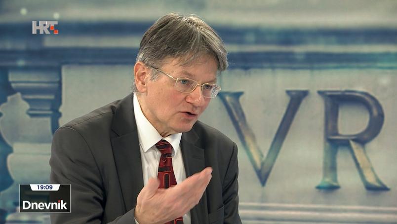 Radovan Dobronić, predsjednik Vrhovnog suda u JL-u: Upotreba ZDS je civilizacijsko pitanje, a ne može se civilizacija zasnivati na tome da se veličanje zločina imalo tolerira